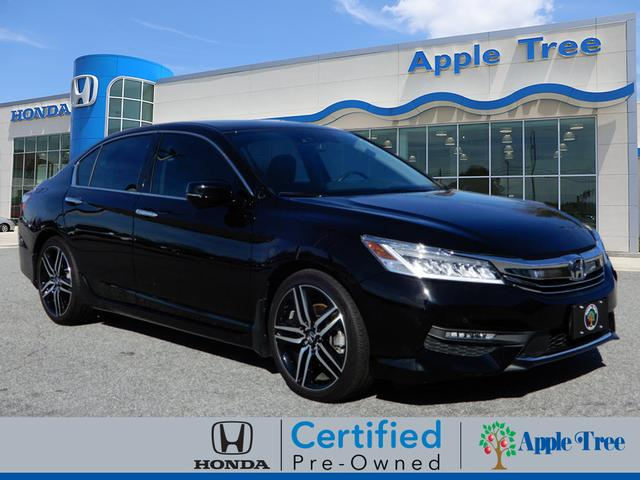 Pre Owned 2017 Honda Accord Touring Touring 4dr Sedan In Fletcher