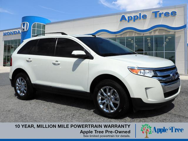 Pre-Owned 2013 Ford Edge SEL Heated Leather Seats, Back Up C