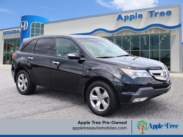 Pre-Owned 2007 Acura MDX SH-AWD w/Sport w/RES