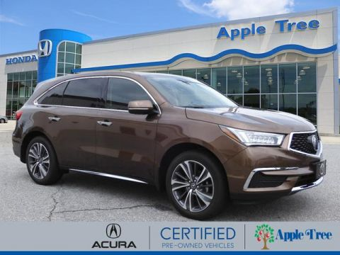 Certified Pre-Owned 2019 Acura MDX TECH 7P