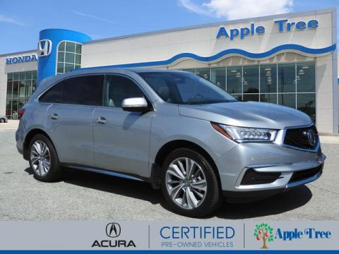 Pre-Owned 2018 Acura MDX SH-AWD w/Tech
